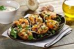 Łódeczki z cukinią, wędzonym łososiem i ostrym sosem czosnkowym1 - Kopia.JPG